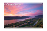 Columbia Gorge from Crown Point Posters