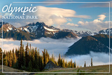 Olympic National Park - Deer Park Prints by  Lantern Press