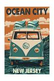 Ocean City, New Jersey - VW Van Prints