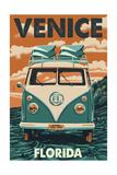Venice, Florida - VW Van Posters by  Lantern Press