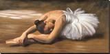Danseuse Reproducción en lienzo de la lámina por Andrea Bassetti