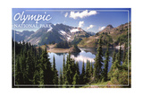 Olympic National Park - Hart Lake Poster by  Lantern Press