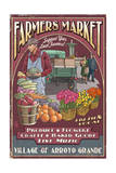 Arroyo Grande, California - Farmers Market Print by  Lantern Press