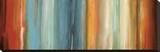Flow II Bedruckte aufgespannte Leinwand von Max Hansen