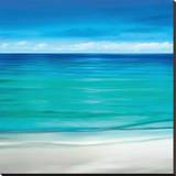 Paradise II Stretched Canvas Print by Jennifer Bailey