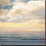 Ocean Light I Stretched Canvas Print by John Seba