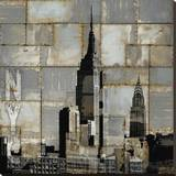 NYC Industrial II Stretched Canvas Print by Dylan Matthews