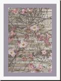 Dogwood Dance I Stretched Canvas Print by Jennifer Goldberger