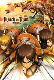 Attack on Titan - Attack Kunstdrucke