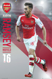 Arsenal - Ramsey 14/15 Posters