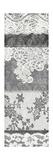 Vintage Lace Panel I Print by Hugo Wild