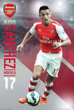 Arsenal - Sanchez 14/15 Plakater