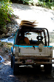 Jeep Going Surfing in Costa Rica Photo Poster Print Prints