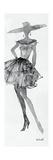 Fashion Sketchbook V Premium Giclée-tryk af Anne Tavoletti