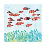 Redfish School Prints by Sarah Millin