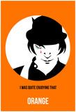 Anna Malkin - Orange Poster 2 Plakát