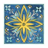 Tuscan Sun Tile I Color Poster von Anne Tavoletti