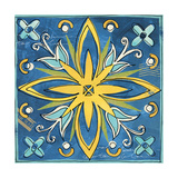 Tuscan Sun Tile I Color Posters by Anne Tavoletti