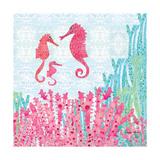 Seahorses Print by Sarah Millin