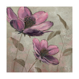 Plum Floral II Premium Giclee Print by Emily Adams