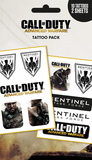 Call Of Duty - Sentinel Tattoo Pack Temporary Tattoos