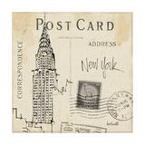 Postcard Sketches I Giclee-tryk i høj kvalitet af Anne Tavoletti