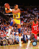Mychal Thompson 1987 Action Photo