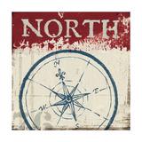 Nautical I Red Prints