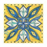 Tuscan Sun Tile II Color Premium Giclée-tryk af Anne Tavoletti