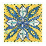 Tuscan Sun Tile II Color Art by Anne Tavoletti