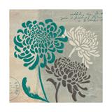 Chrysanthemums I Giclee-tryk i høj kvalitet af Jim Wellington
