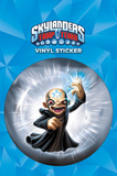 Skylanders Trap Team - Chaos Vinyl Sticker Sticker