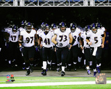 Baltimore Ravens 2013 Team Introduction Photo