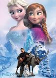 La Reine des neiges - Collage Affiche
