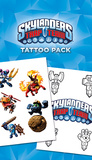 Skylanders Trap Team Tattoo Pack Tatouages temporaires