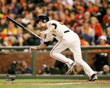 Matt Duffy Game 4 of the 2014 World Series Action Photo