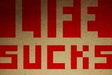 Life Sucks 3 Wall Sign