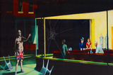 Nighthawks Spoof Graffiti Prints