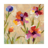 Bold Bright Flowers III Giclee-tryk i høj kvalitet af Silvia Vassileva