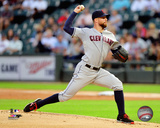 Corey Kluber 2014 Action Photo