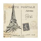 Postcard Sketches III Premium Giclée-tryk af Anne Tavoletti