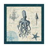 Ocean Life VII Premium Giclee Print by  Pela