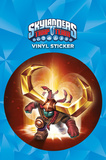 Skylanders Trap Team - Headrush Vinyl Sticker Stickers