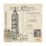 Postcard Sketches II Premium Giclée-tryk af Anne Tavoletti