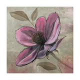 Plum Floral III Premium Giclee Print by Emily Adams