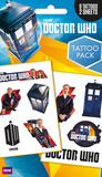 Doctor Who Tattoo Pack Temporary Tattoos