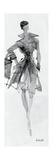 Fashion Sketchbook VII Premium Giclée-tryk af Anne Tavoletti