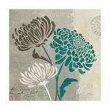 Chrysanthemums II Giclee-tryk i høj kvalitet af Jim Wellington