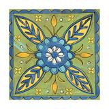 Tuscan Sun Tile III Color Poster von Anne Tavoletti