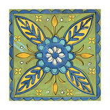Tuscan Sun Tile III Color Posters by Anne Tavoletti